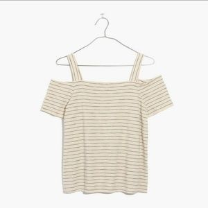 Madewell Avery Cold Shoulder Top